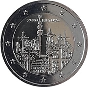 2 Euro (Hill of Crosses) -  obverse