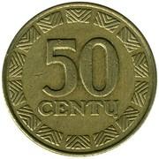 50 Centų -  reverse
