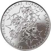 1 Litas (Presidency of the EU Council) -  reverse