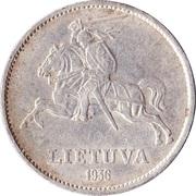 10 Litų (Vytautas) – obverse
