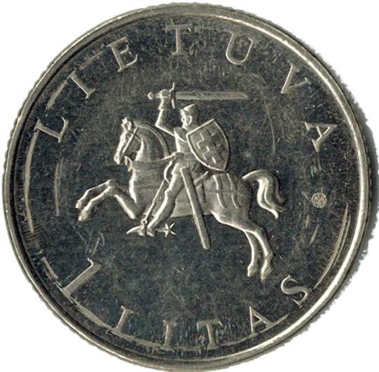 Lithuania 1 Litas UNC European Capital of Culture 2009