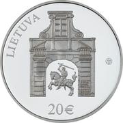 20 Euro (Radziwiłł Palace) -  obverse