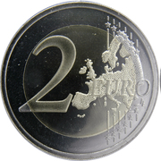2 Euro (Vilnius) -  reverse