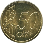 50 Euro Cent -  reverse