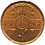 1 Centas (Reverse Trial strike) – reverse