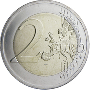 2 Euro (100th Anniversary of the Baltic States) -  reverse