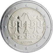 2 Euro (Song and Dance Celebration) -  obverse