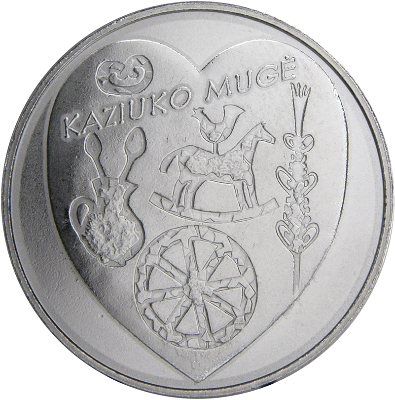 LITHUANIA 1.50 Eur Commemorative Coin Hound and Zemaitukas Cu//Ni UNC 2017