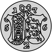 2 Kopecks - Elizaveta (Krasny; pattern) – reverse