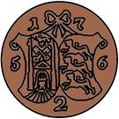 2 Kopecks - Elizaveta (Novodel; 4 Kopeck obverse die; copper) – reverse