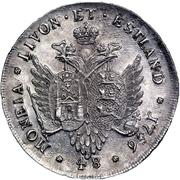48 Kopecks - Elizaveta (Krasny; pattern; type 1) – reverse
