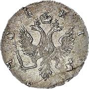4 Kopecks - Elizaveta (Krasny) – obverse