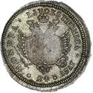 24 Kopecks - Elizaveta (Novodel; original obverse die; large planchet) – reverse