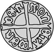 1 Pfennig - Wolter von Plettenberg (Wenden) – reverse