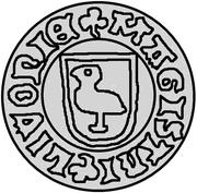 1 Pfennig - Bernd von der Borch (Wenden) – obverse