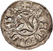 1 Lübische - Wennemar von Brüggeneye (Reval; solid cross) – reverse