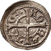 1 Pfennig - Bernd von der Borch (Reval) – reverse