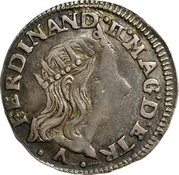 1 Luigino - Ferdinando II – obverse
