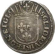 1 Luigino - Ferdinando II – reverse