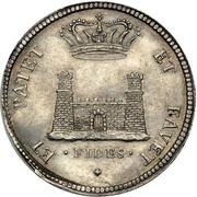 1 Tollero - Cosimo III – reverse