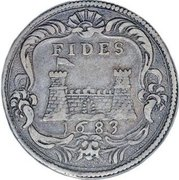 ¼ Tollero - Cosimo III – reverse