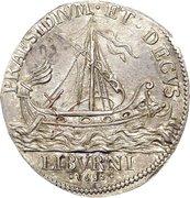 ½ Tollero - Cosimo III – reverse