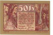 50 Heller (Lofer) -  obverse