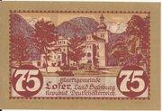 75 Heller (Lofer) – reverse
