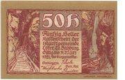 50 Heller (Lofer) – reverse