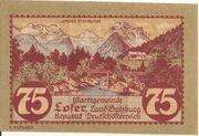 75 Heller (Lofer) – obverse
