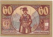 60 Heller (Lofer) -  reverse