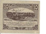10 Heller (Lohnsburg) -  reverse