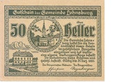 50 Heller (Lohnsburg) -  obverse