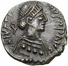 ¼ Siliqua - In the name of Justin II, 565-574 (Open staurogram without dot above) – obverse
