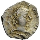 ¼ Siliqua - In the name of Justinian I, 527-565 (Without stars) – obverse