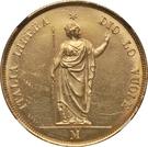 40 Lire – reverse