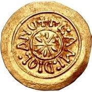 1 Tremissis - Desiderius (Mediolanum/Milan) -  reverse