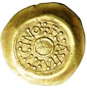 1 Tremissis - Desiderius (Ticinum/Pavia) -  reverse