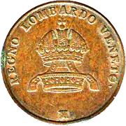 5 Centesimi - Franz Joseph I – obverse