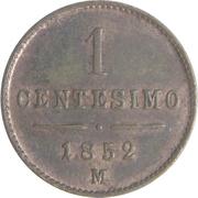 1 Centesimo - Franz Joseph I – reverse