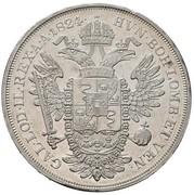 1 Scudo - Franz I – reverse