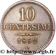 10 Centesimi - Franz Joseph I – reverse