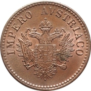 15 Centesimi - Franz Joseph I – obverse