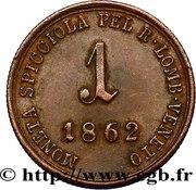 1 Soldo - Franz Joseph I -  reverse
