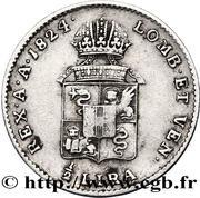 ½ Lira - Franz I – reverse