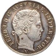 ½ Lira - Ferdinand I – obverse