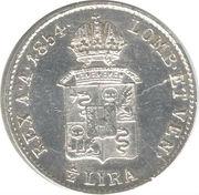 ½ Lira - Franz Joseph I – reverse