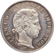 1 Lira - Ferdinand I – obverse