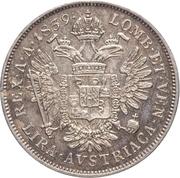 1 Lira - Ferdinand I – reverse