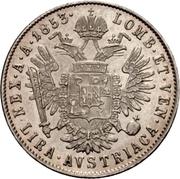1 Lira - Franz Joseph I – reverse